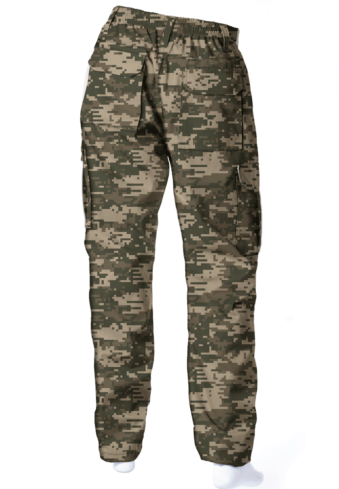 CALÇA CAMUFLADA DIGITAL ACU BRIM FLÚOR CARBON MASCULINA  - REAL HUNTER OUTDOORS