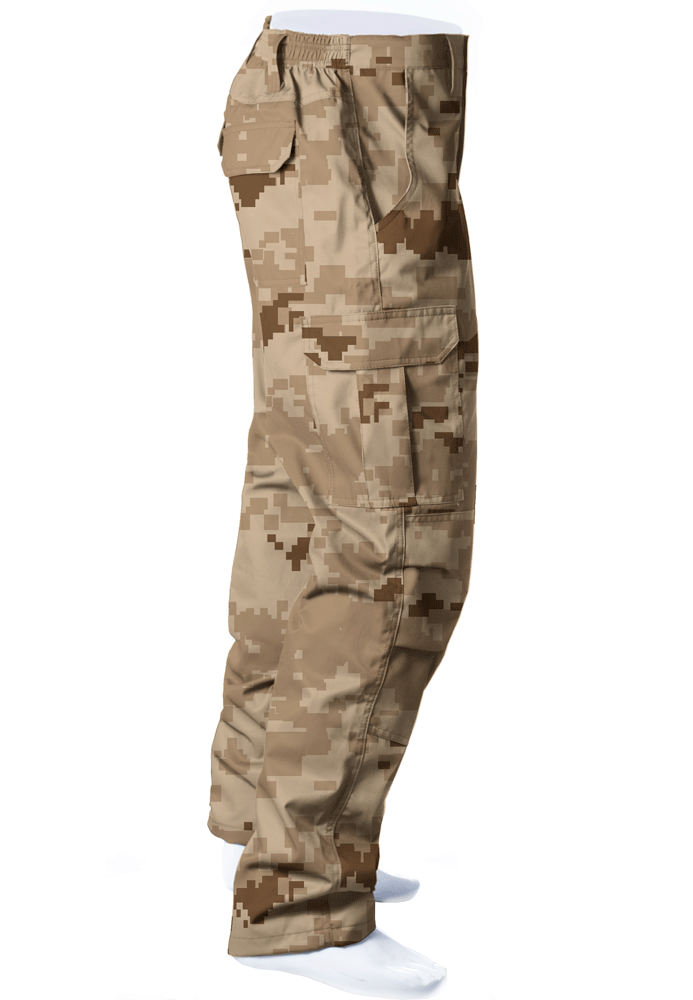 CALÇA CAMUFLADA DIGITAL DESERTO BRIM FLÚOR CARBON MASCULINA  - REAL HUNTER OUTDOORS