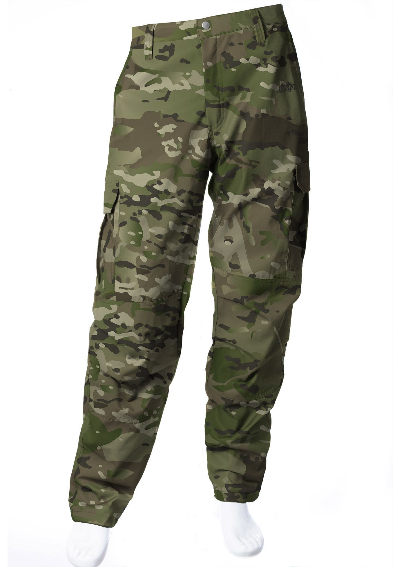 CALÇA CAMUFLADA MULTICAM BRIM FLÚOR CARBON MASCULINA  - REAL HUNTER OUTDOORS