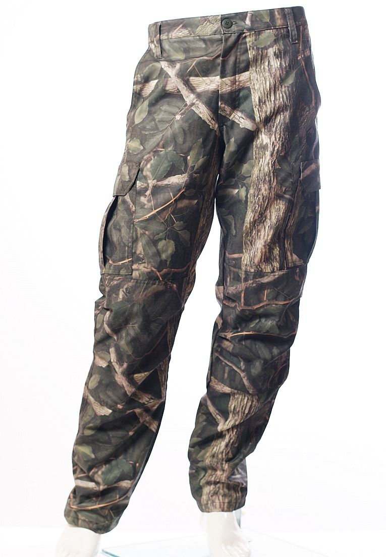 Calça Camuflada Amazônia Brim Flúor Carbon Masculina  - REAL HUNTER OUTDOORS