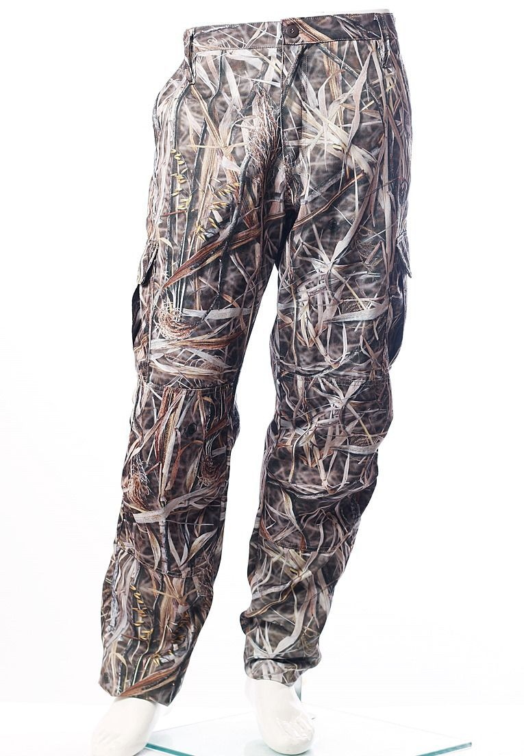 CALÇA CAMUFLADA PALHADA BRIM FLÚOR CARBON MASCULINA  - REAL HUNTER OUTDOORS