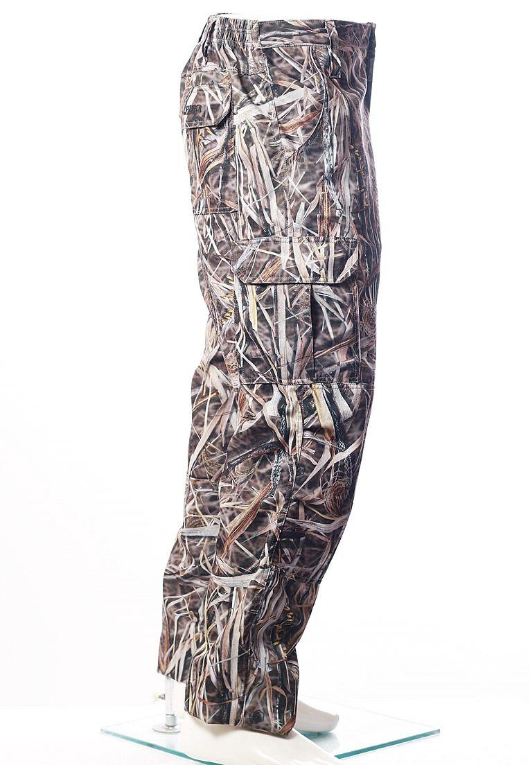 Calça Camuflada Palhada Brim Flúor Carbon Masculina  - REAL HUNTER