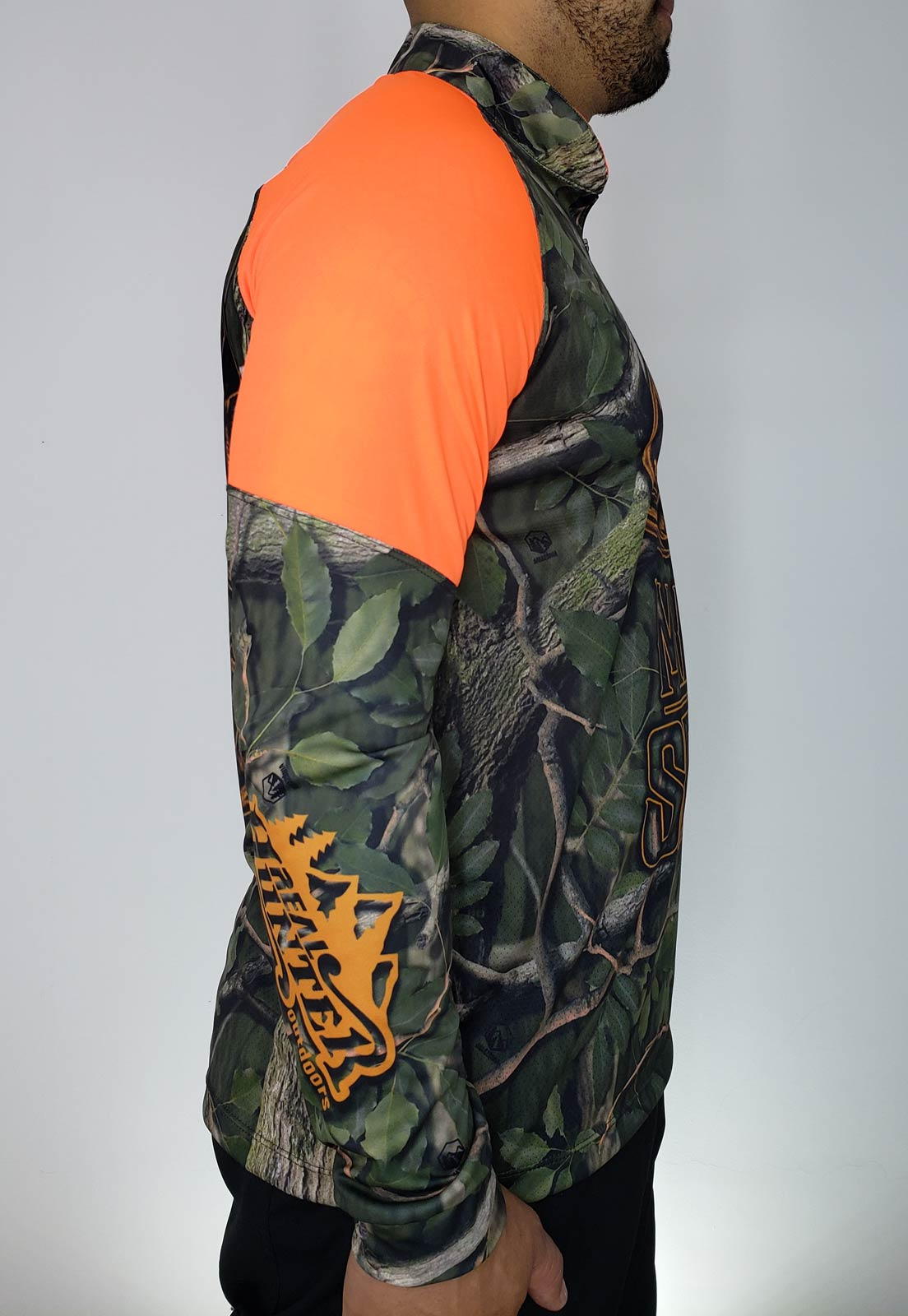 CAMISA DE CAÇA JAVA HUNTER AMAZÔNIA MASCULINA + BANDANA GRÁTIS  - REAL HUNTER OUTDOORS