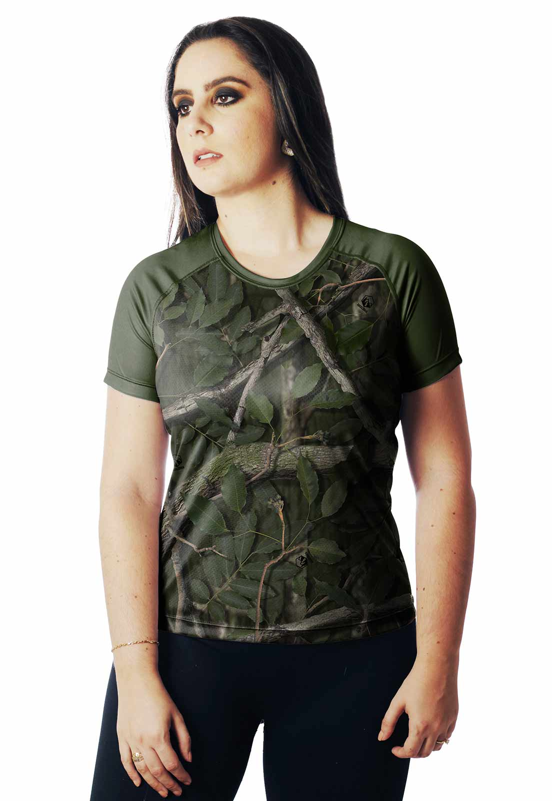 CAMISA DE PESCA CASUAL DIA PROTEÇÃO UV AMAZÔNIA 01 REAL HUNTER FEMININA  - REAL HUNTER OUTDOORS