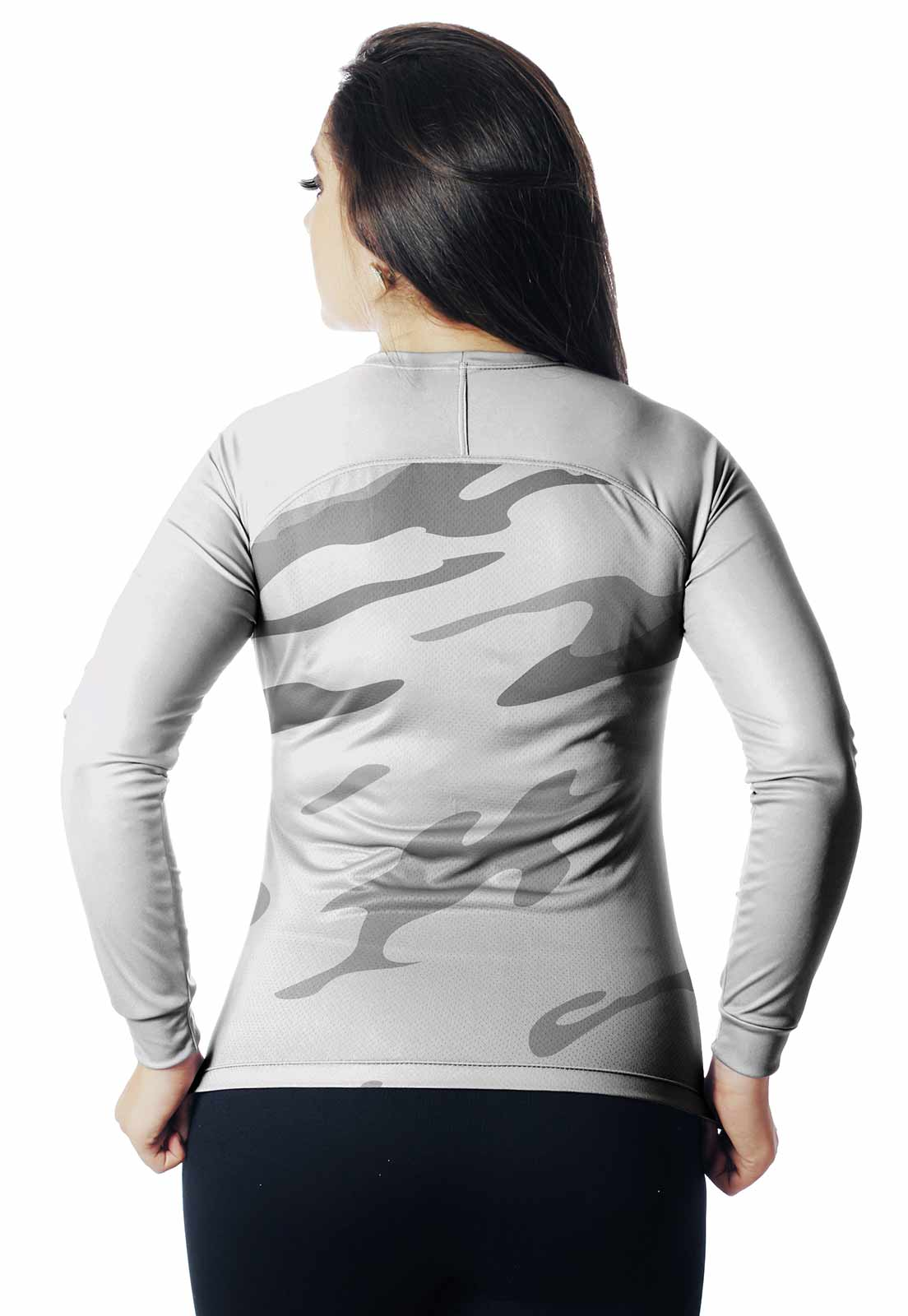 CAMISA DE PESCA CASUAL LAZER PROTEÇÃO UV CAMUFLADA 10 REAL HUNTER FEMININA  - REAL HUNTER OUTDOORS