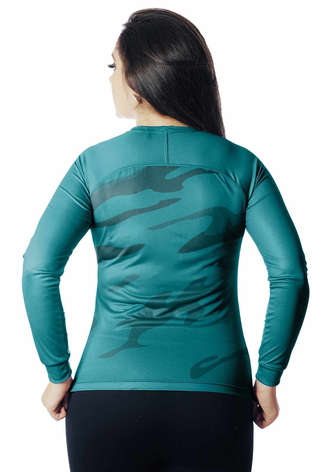 CAMISA DE PESCA CASUAL LAZER PROTEÇÃO UV CAMUFLADA 18 REAL HUNTER FEMININA  - REAL HUNTER OUTDOORS