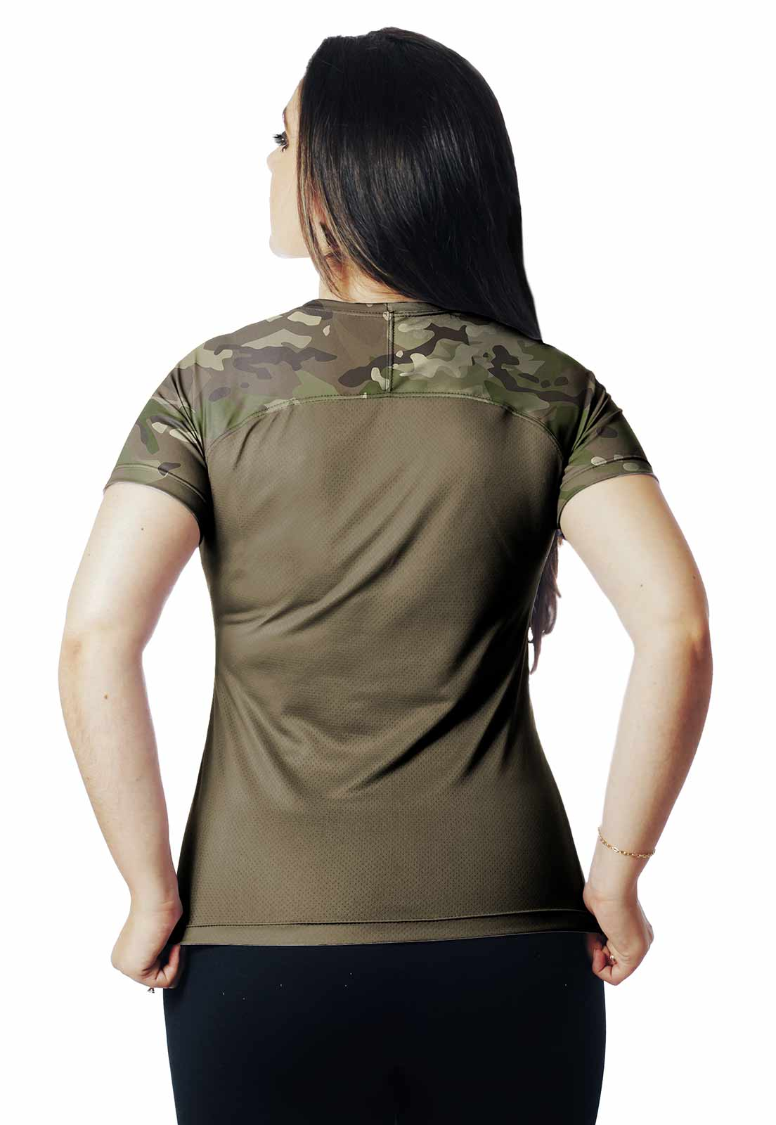 CAMISA DE PESCA DIA PROTEÇÃO UV MULTICAM 01 REAL HUNTER FEMININA  - REAL HUNTER OUTDOORS