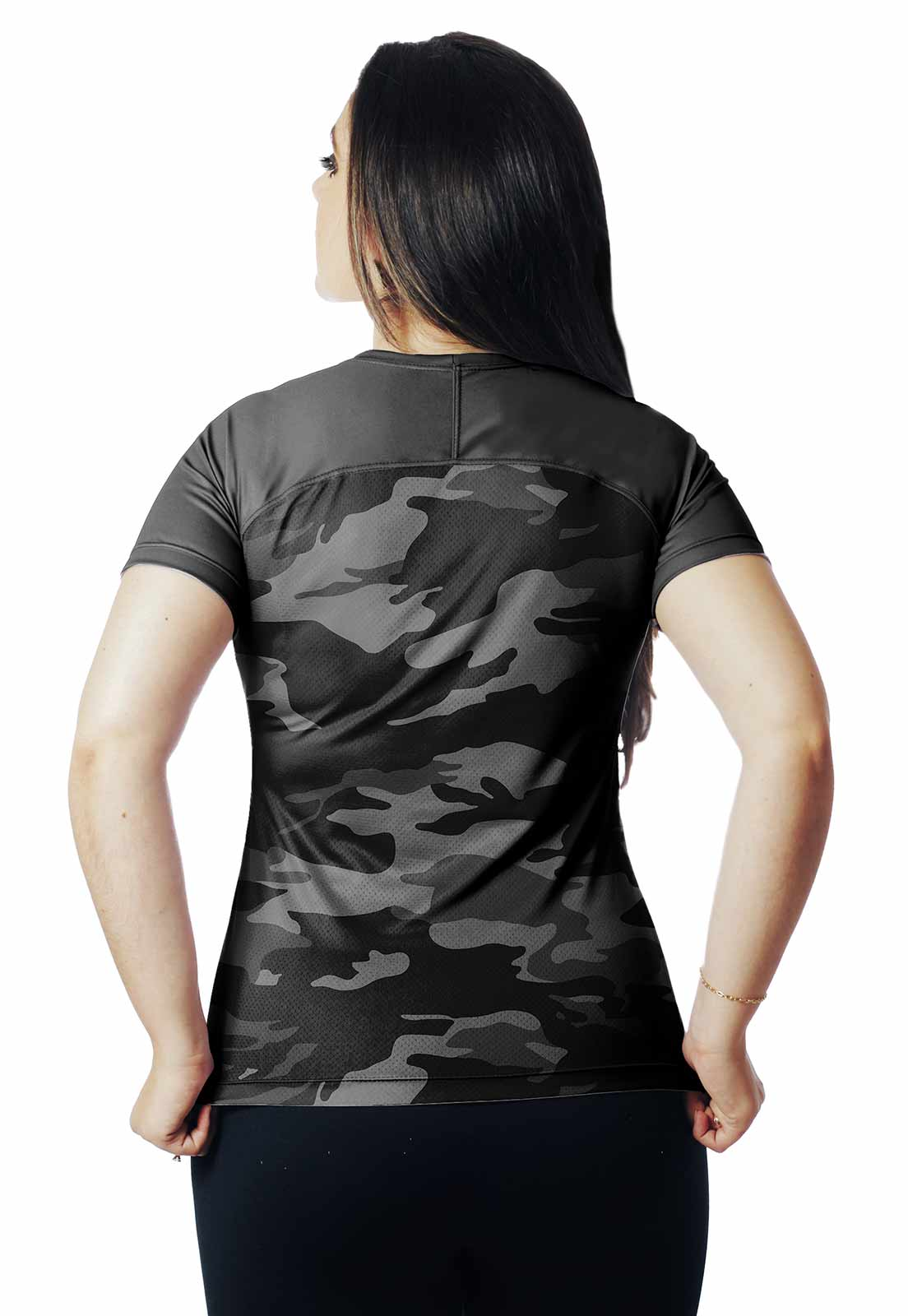 CAMISA DE PESCA DIA PROTEÇÃO UV URBANO BLACK 01 REAL HUNTER FEMININA  - REAL HUNTER OUTDOORS