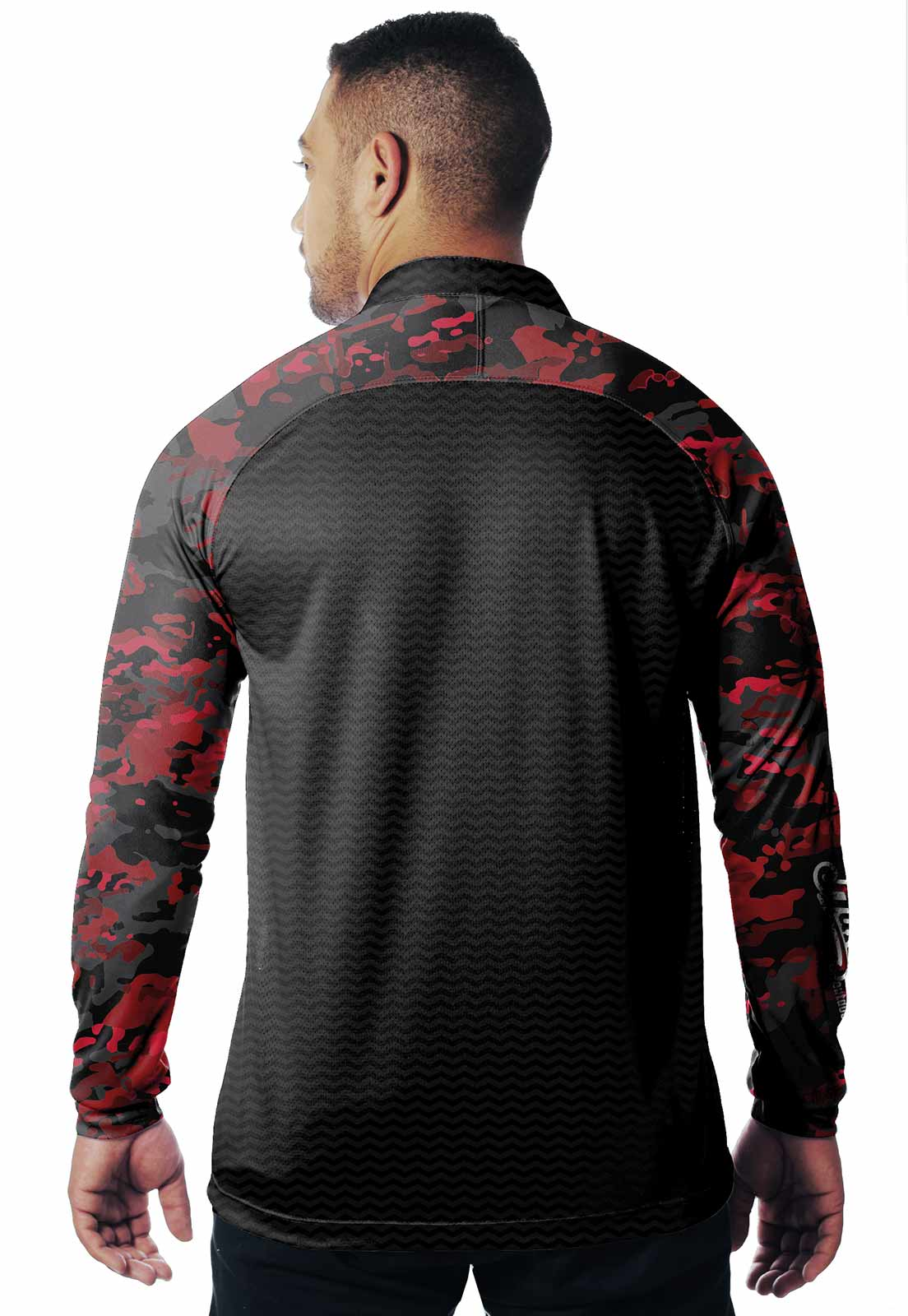 CAMISA DE PESCA FISH PRO 13 MASCULINA + BANDANA GRÁTIS  - REAL HUNTER OUTDOORS