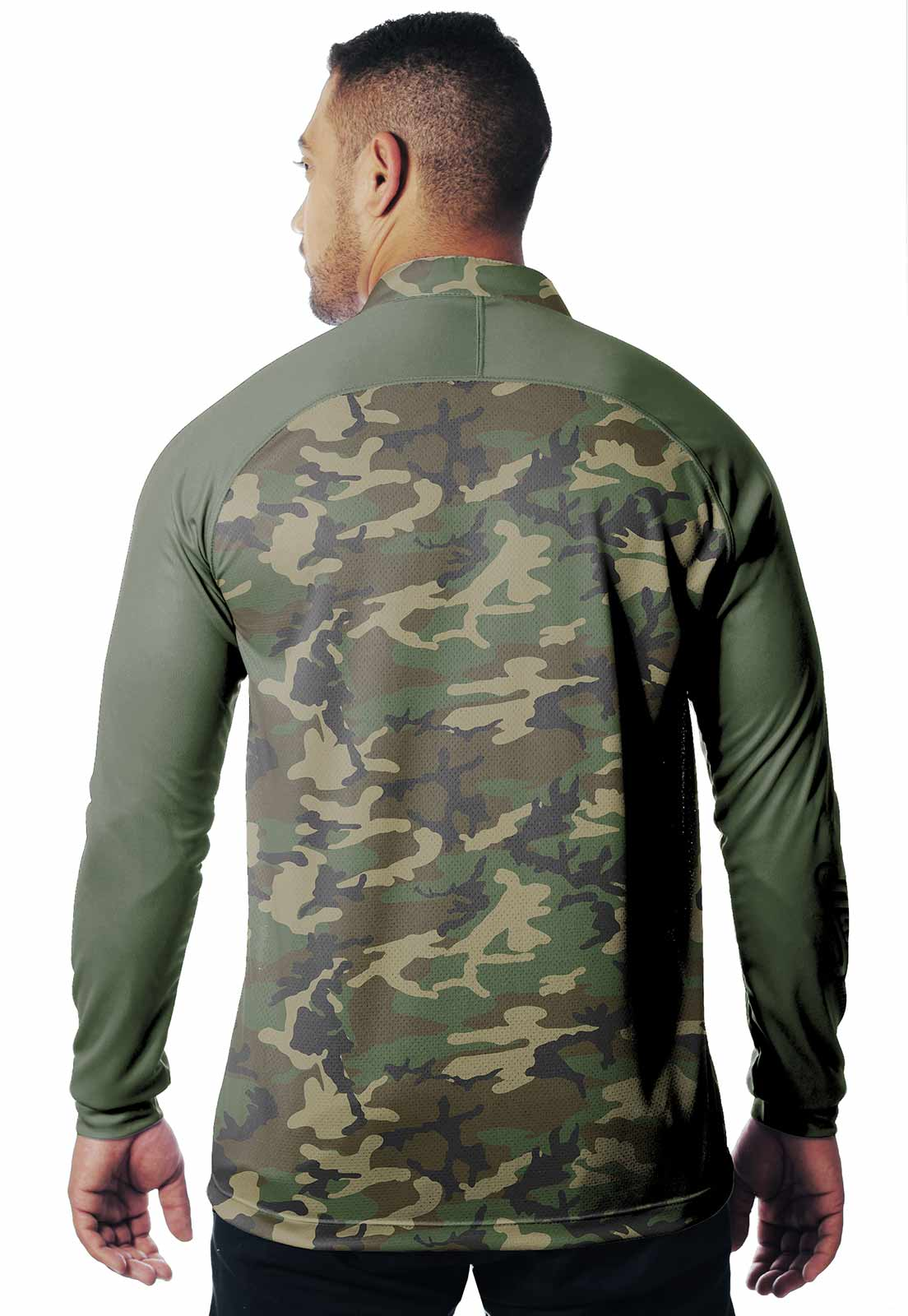 CAMISA DE PESCA FISH PRO 17 MASCULINA + BANDANA GRÁTIS  - REAL HUNTER OUTDOORS