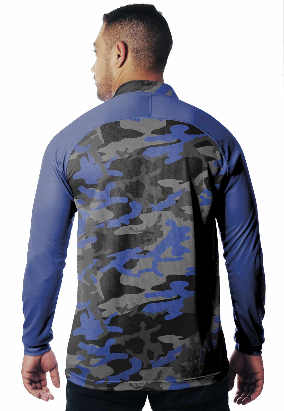 CAMISA DE PESCA FISH PRO 18 MASCULINA + BANDANA GRÁTIS  - REAL HUNTER OUTDOORS