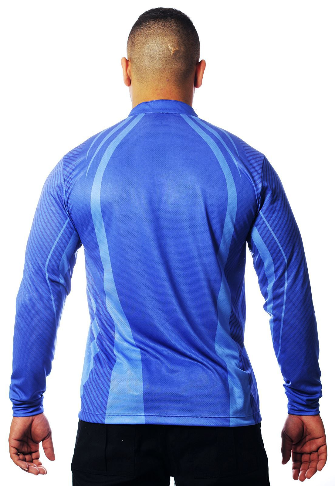 CAMISA DE PESCA MASCULINA BLUE TECHNOLOGY  - REAL HUNTER OUTDOORS