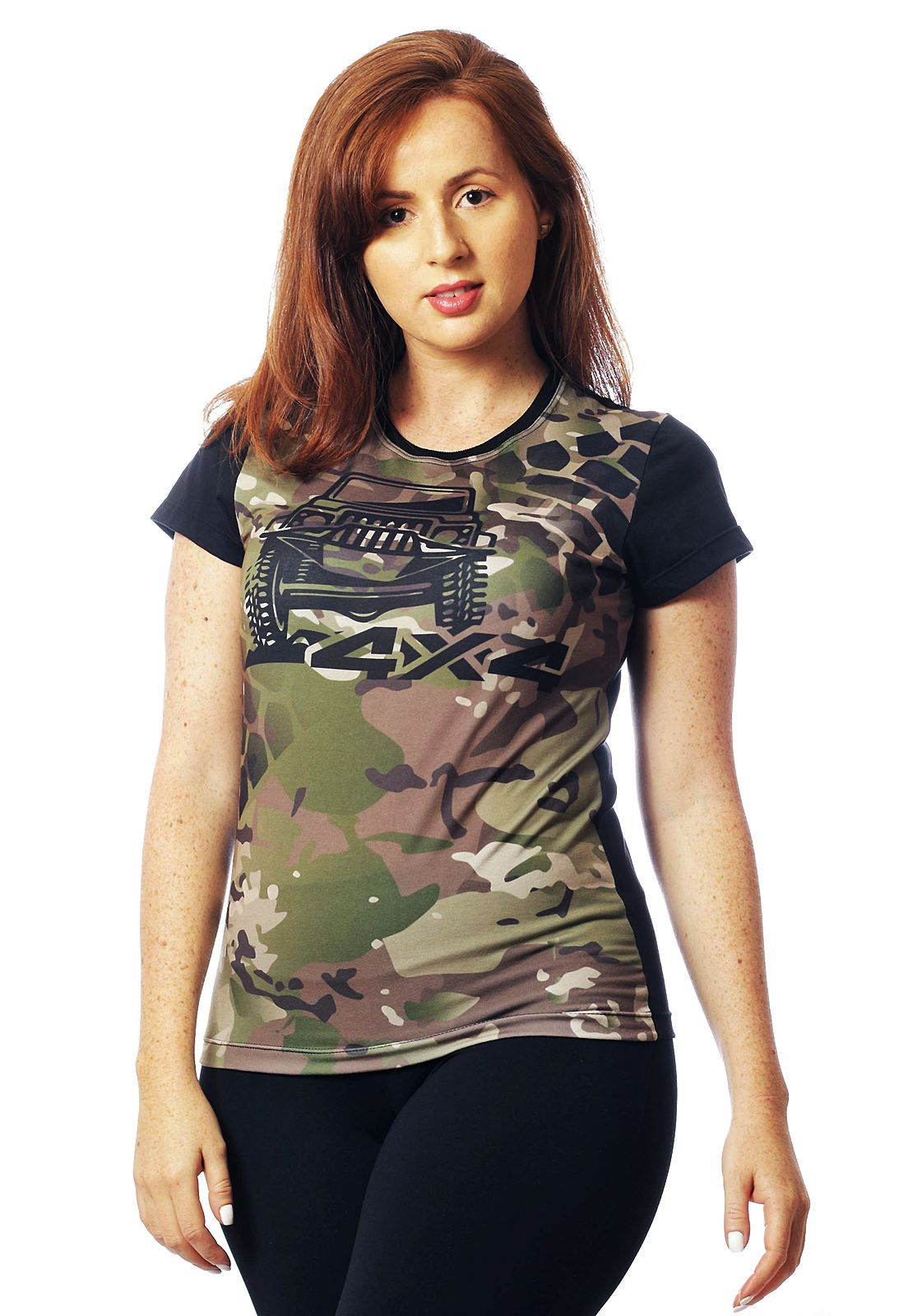 CAMISA OFF ROAD MANGA CURTA FEMININA  - REAL HUNTER OUTDOORS