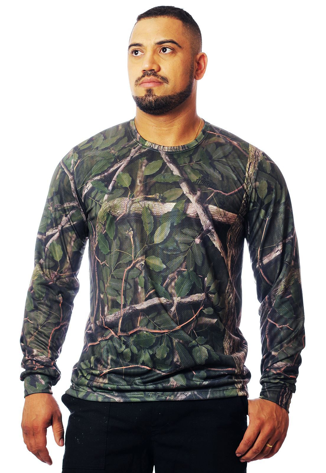 CAMISETA CAMUFLADA AMAZÔNIA MANGA LONGA MASCULINA   - REAL HUNTER OUTDOORS