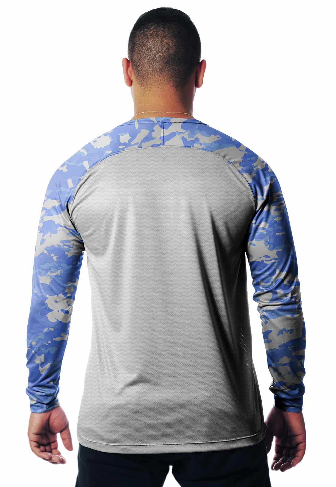 CAMISETA CAMUFLADA LAZER 01 MANGA LONGA MASCULINA - REAL HUNTER OUTDOORS