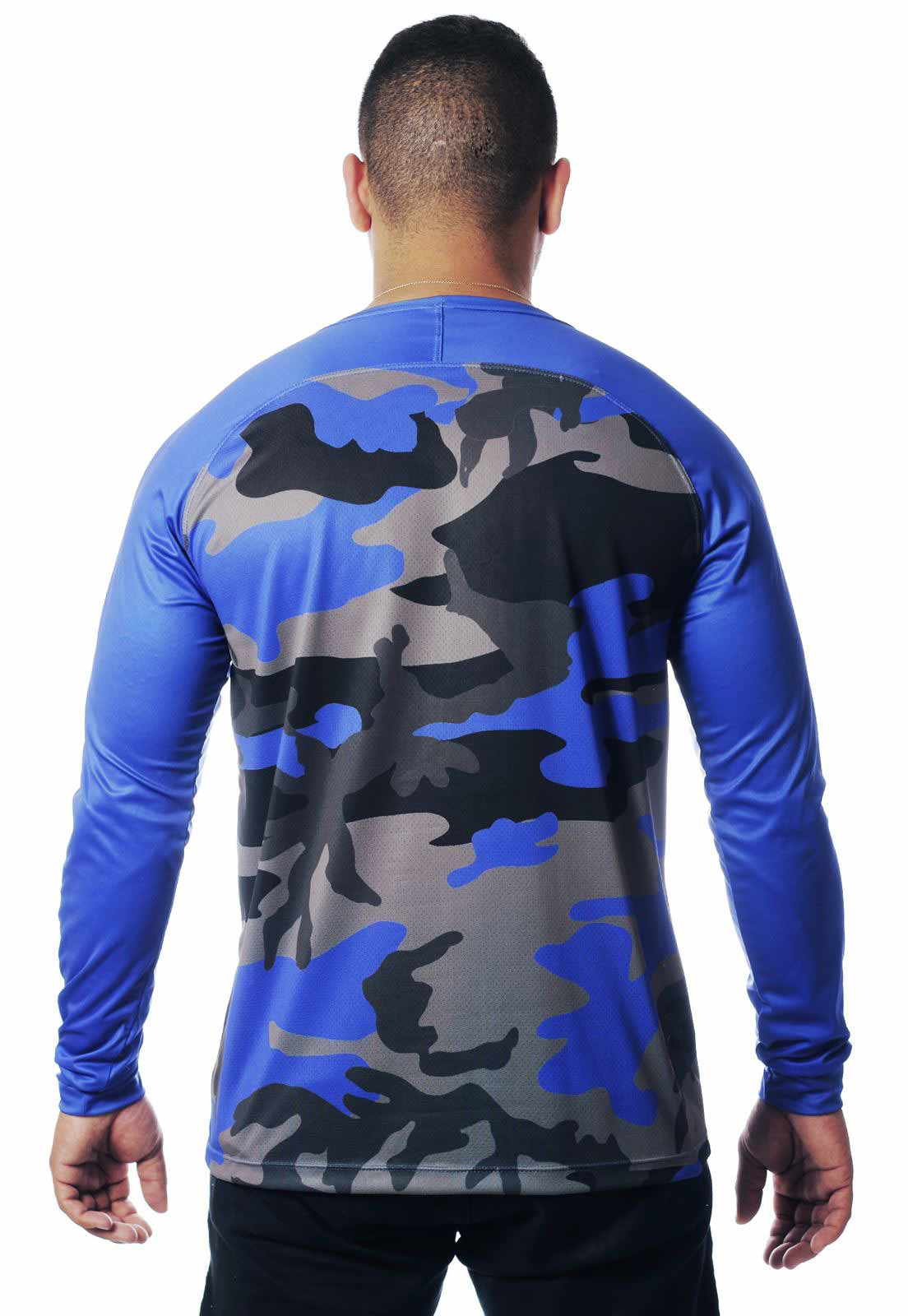 CAMISETA CAMUFLADA LAZER 23 MANGA LONGA MASCULINA  - REAL HUNTER OUTDOORS