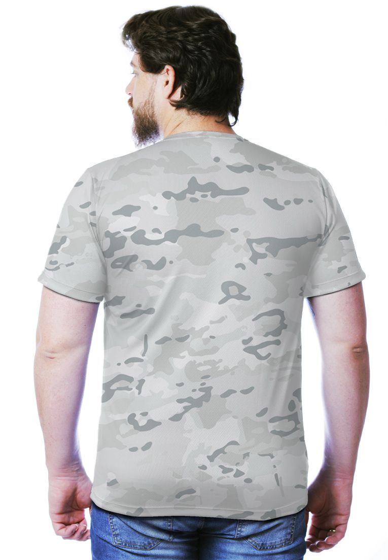 CAMISETA CAMUFLADA MULTICAM ALPINE MANGA CURTA MASCULINA  - REAL HUNTER OUTDOORS