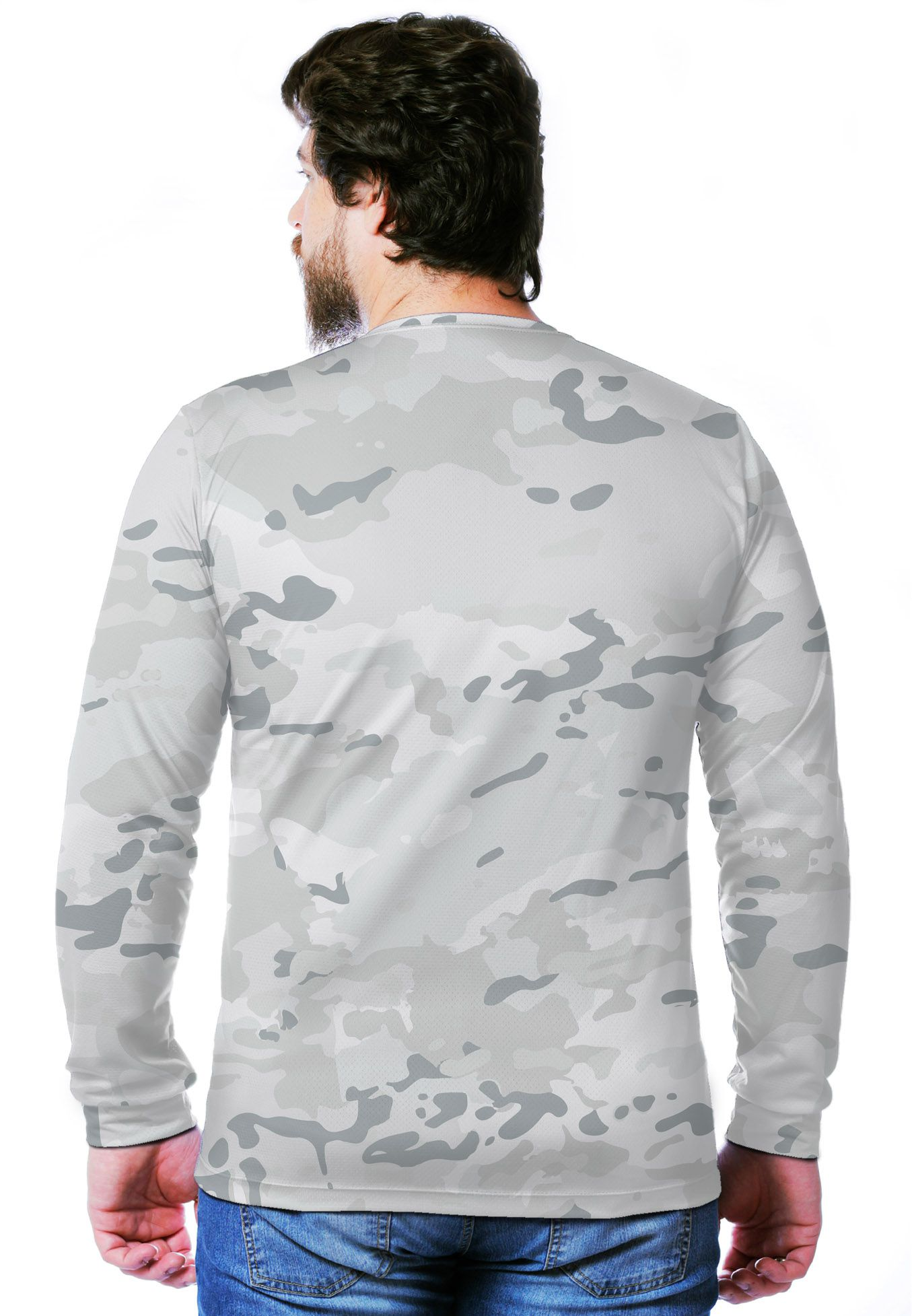 Camiseta  Camuflada Multicam Alpine Manga Longa Masculina  - REAL HUNTER