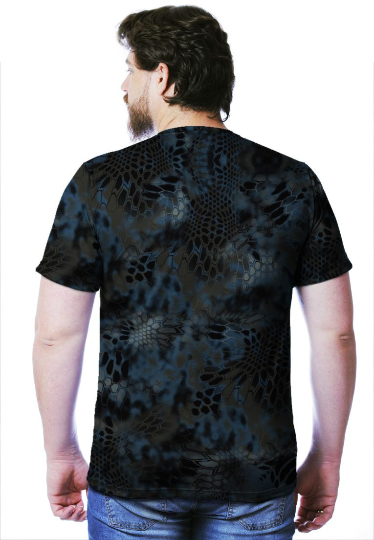 CAMISETA CAMUFLADA NEPTUNE MANGA CURTA MASCULINA  - REAL HUNTER OUTDOORS