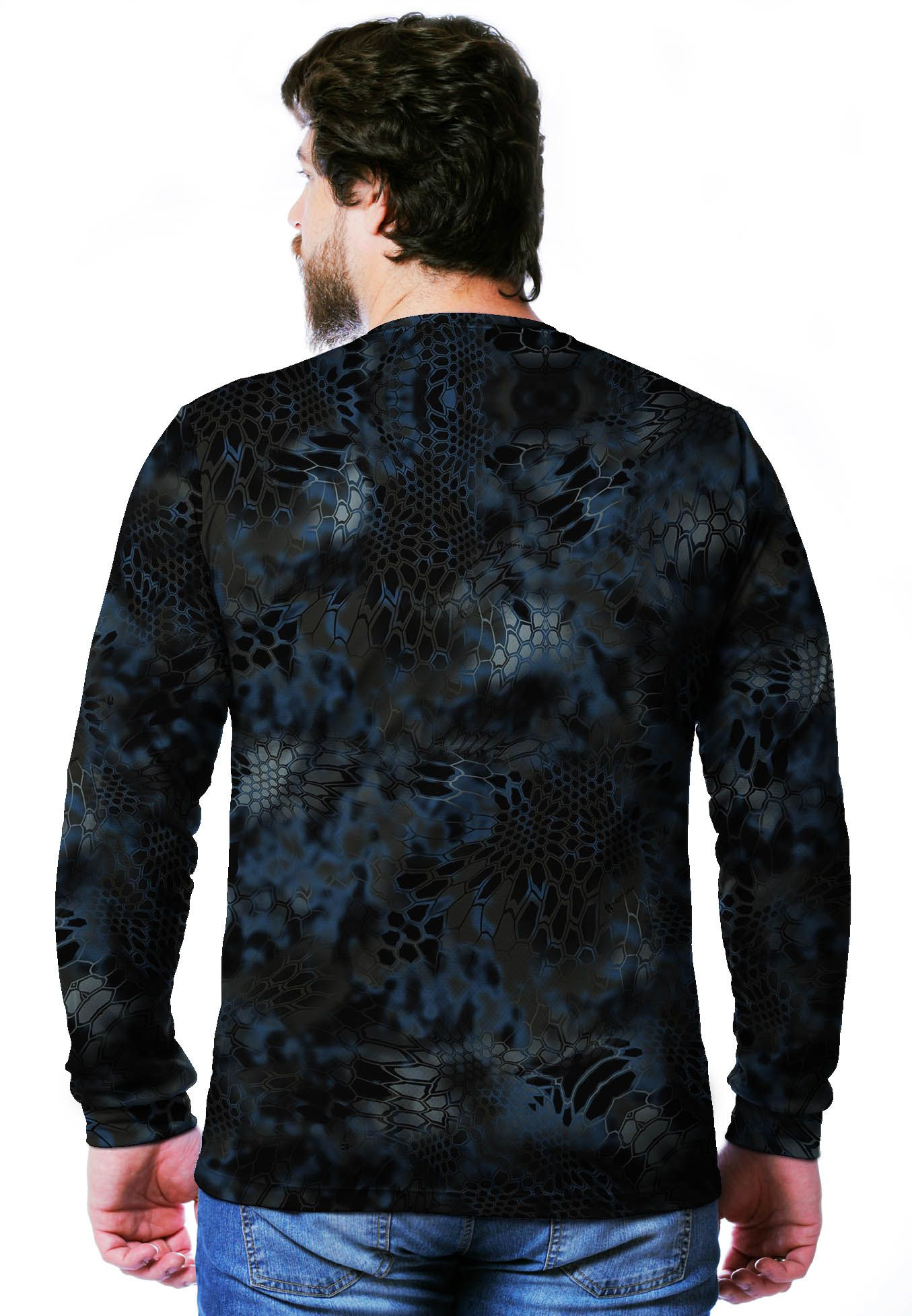 CAMISETA CAMUFLADA NEPTUNE MANGA LONGA MASCULINA  - REAL HUNTER OUTDOORS