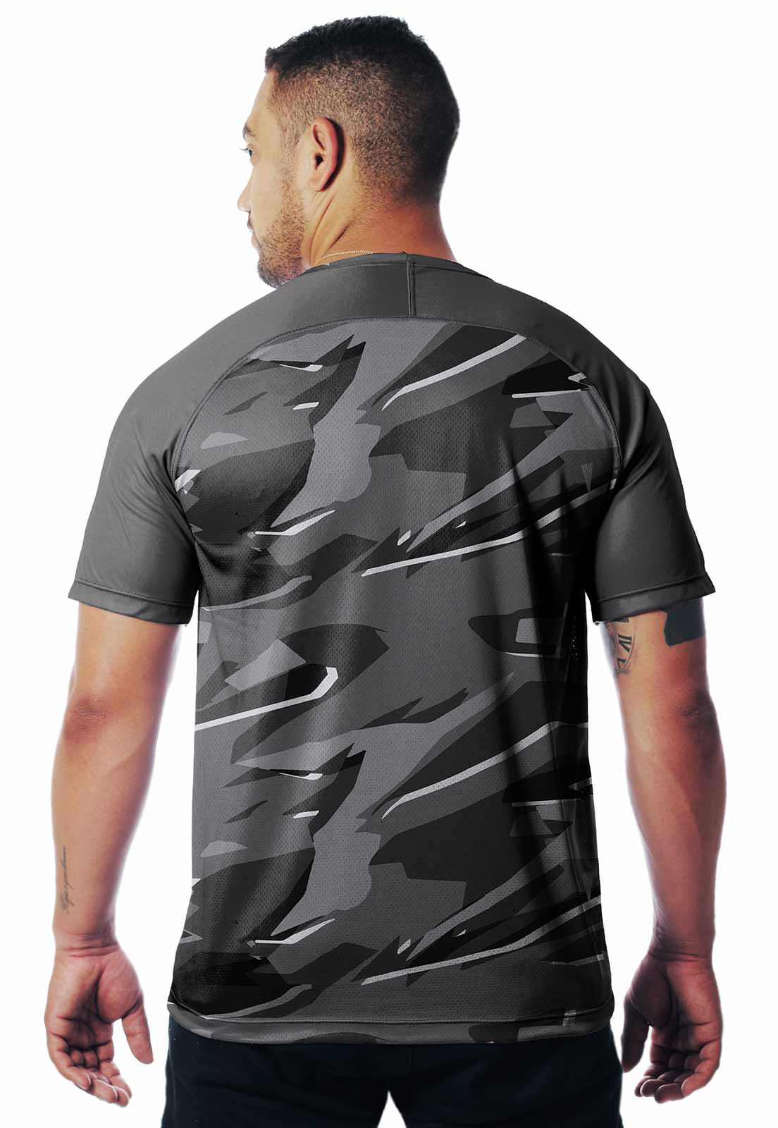 CAMISETA CAMUFLADA PARABELLUM DIA 03 MANGA CURTA MASCULINA  - REAL HUNTER OUTDOORS