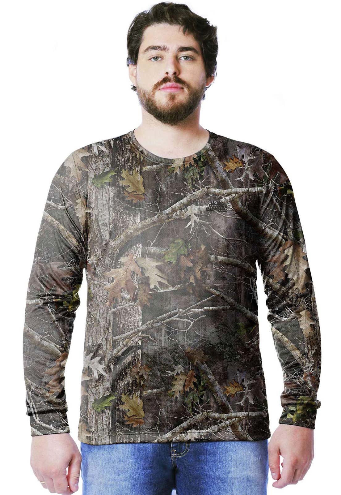CAMISETA CAMUFLADA REALTREE MASCULINA MANGA LONGA  - REAL HUNTER OUTDOORS