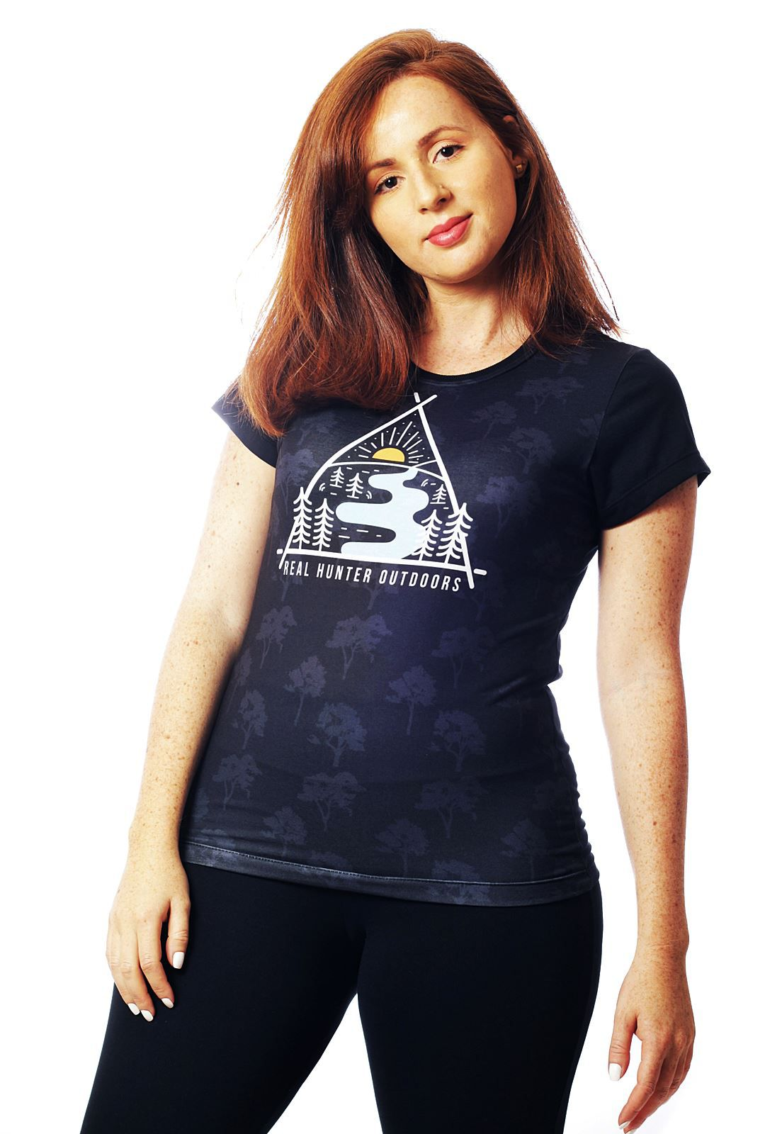 CAMISETA NATUREZA MANGA CURTA FEMININA  - REAL HUNTER OUTDOORS