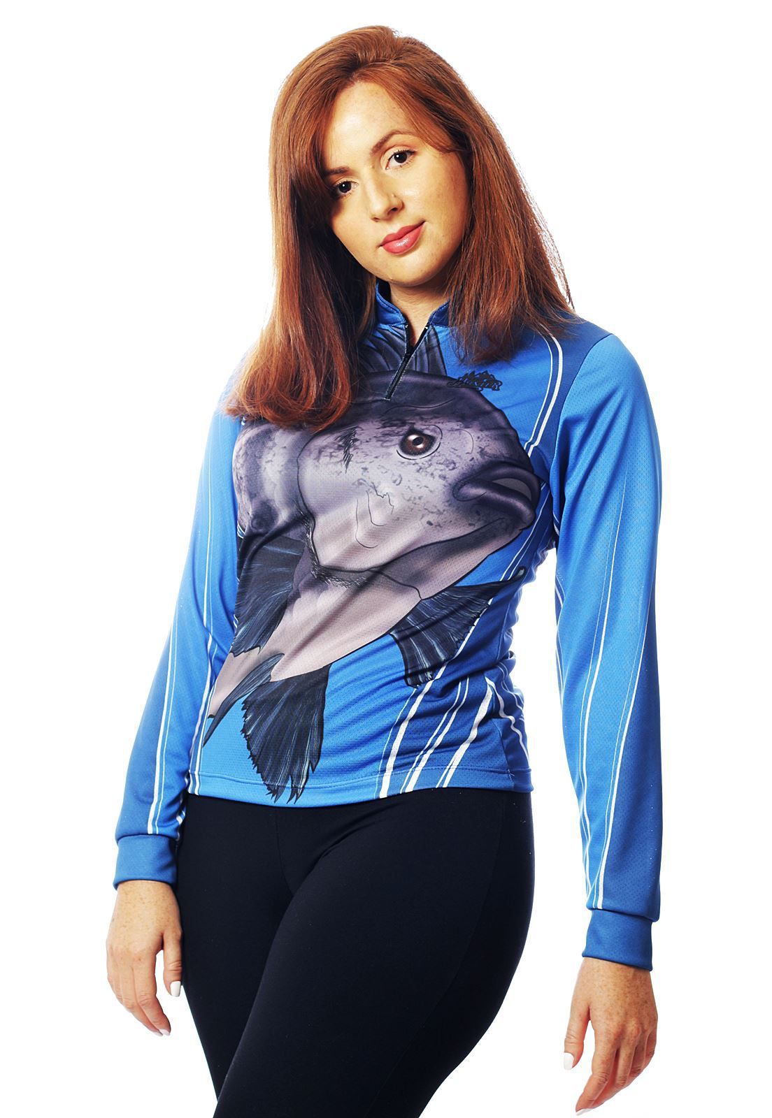 CAMISETA DE PESCA TILÁPIA FEMININA   - REAL HUNTER OUTDOORS