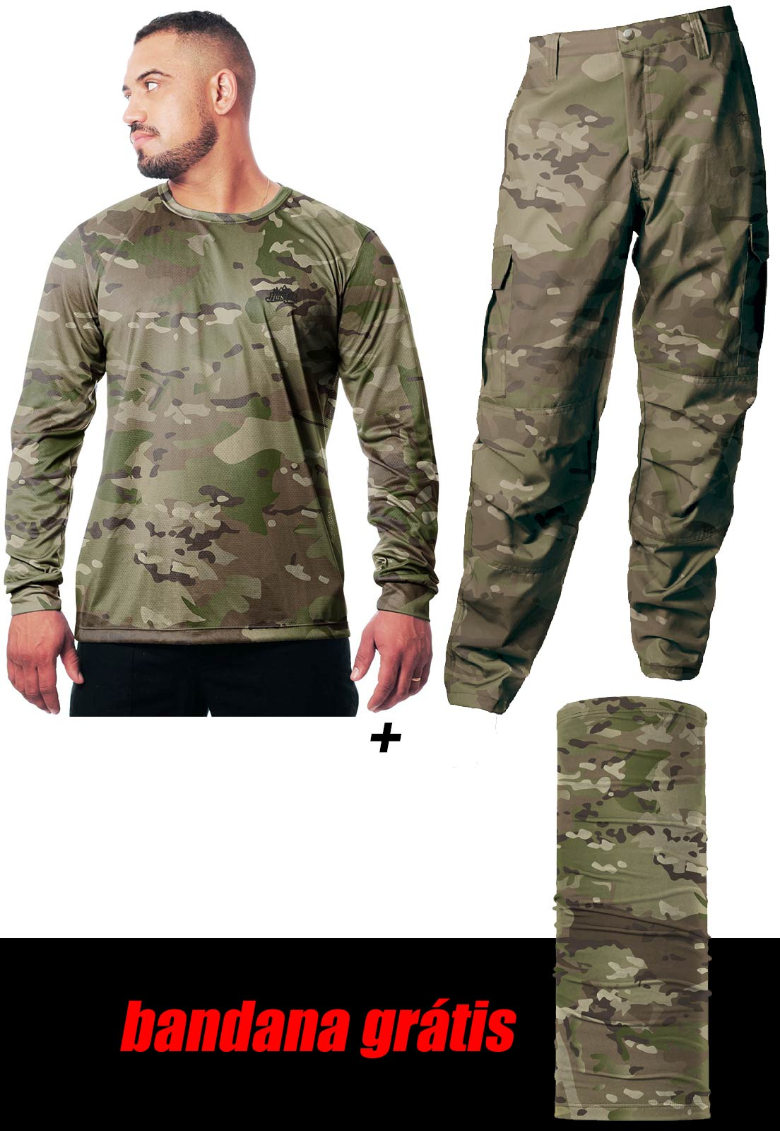 COMBO MULTICAM  - REAL HUNTER OUTDOORS