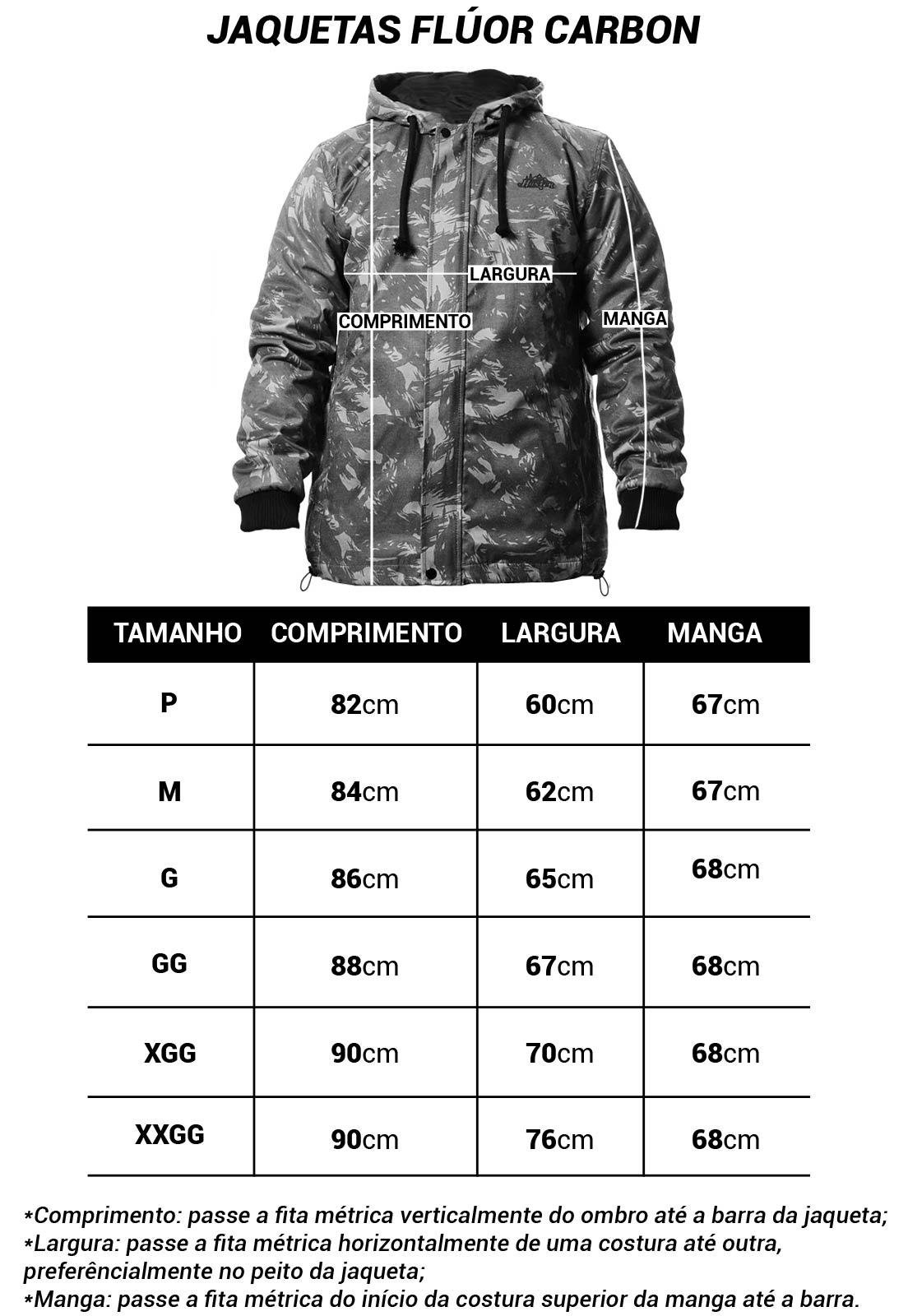 JAQUETA CAMUFLADA EXÉRCITO BRASILEIRO FLÚOR CARBON MASCULINA  - Real Hunter