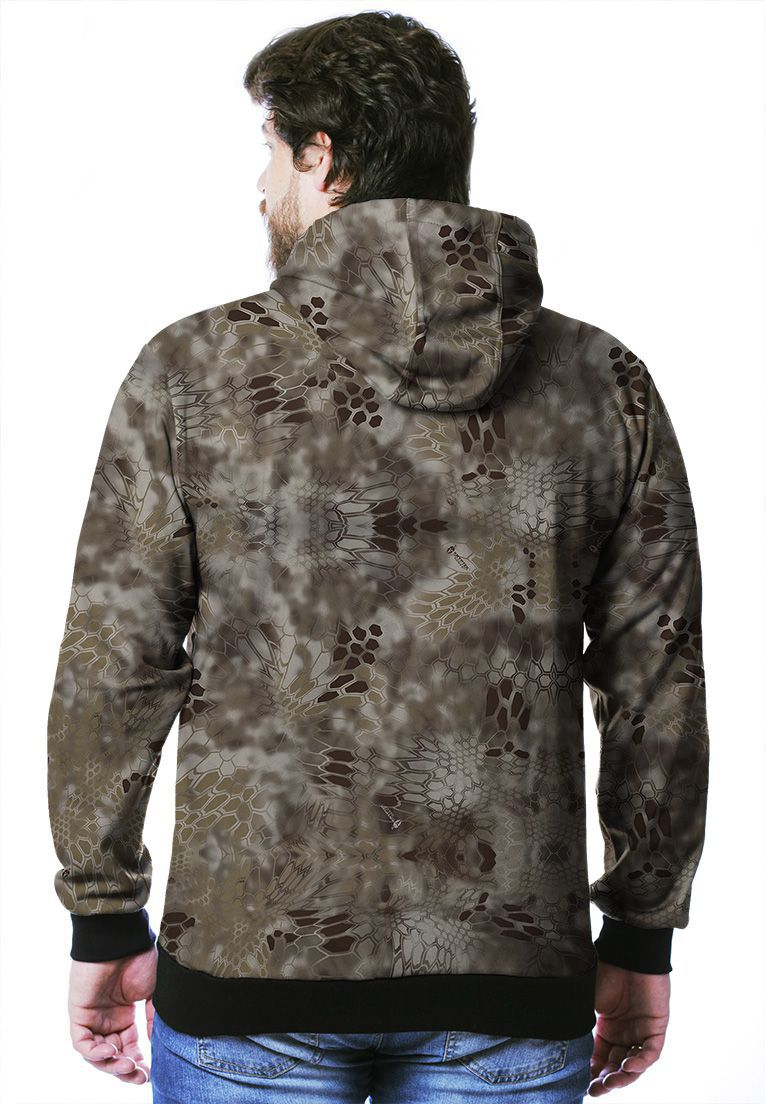 MOLETOM CAMUFLADO KRYPTEK NOMAD MASCULINO FECHADO  - REAL HUNTER OUTDOORS