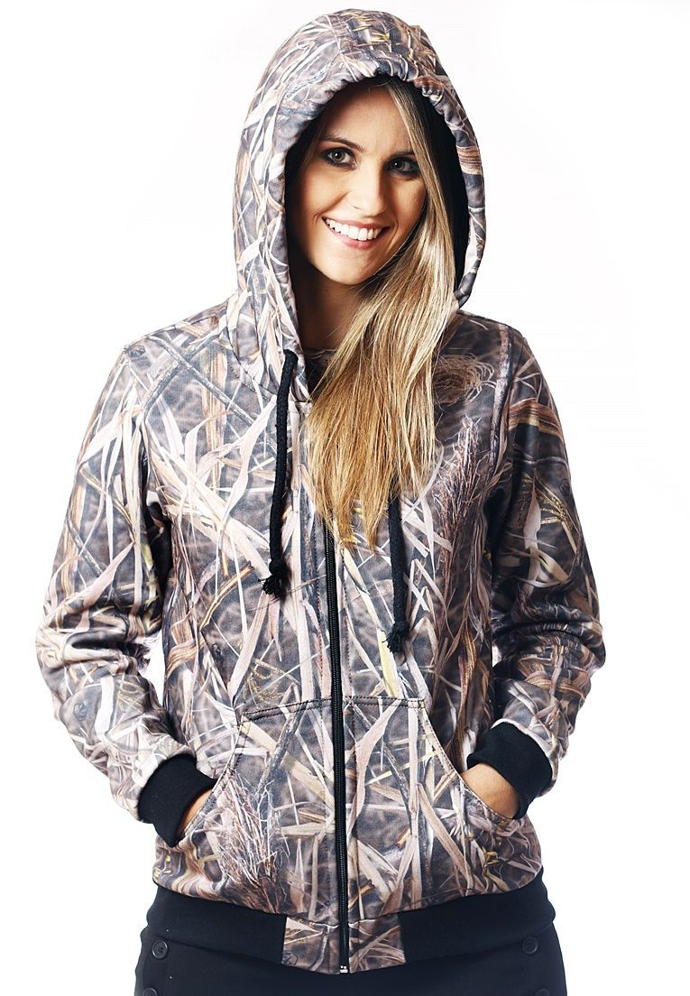 Moletom Camuflado Feminino Palhada  - REAL HUNTER OUTDOORS