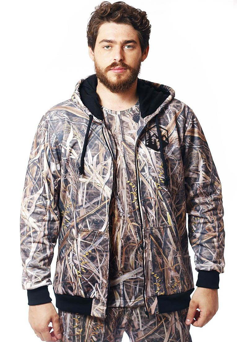 Moletom Camuflado Palhada Masculino  - REAL HUNTER OUTDOORS