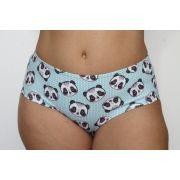 Calcinha boyshort panda blush