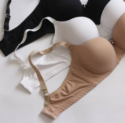 Kit basic preto/branco/nude
