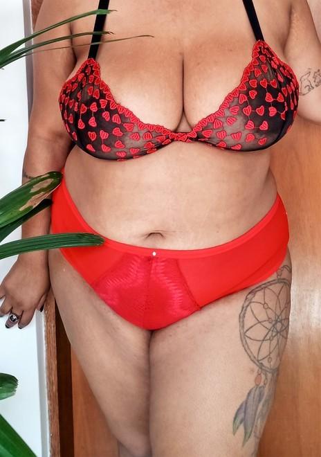 Calcinha Fiozinho vermelha