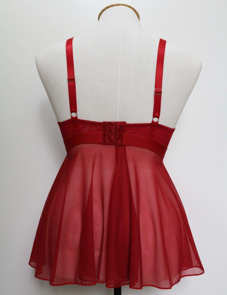 Camisola Lauren vermelha