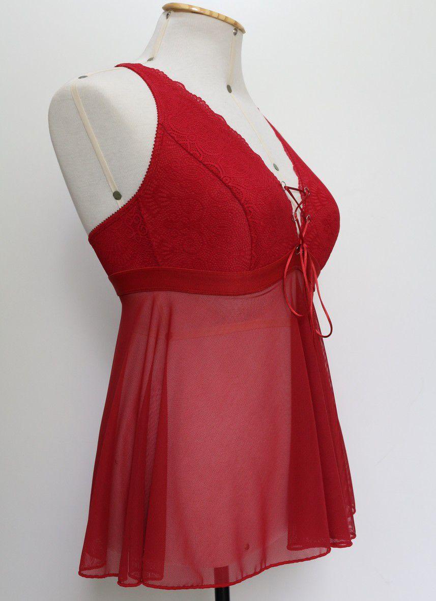 Camisola Lucy vermelha