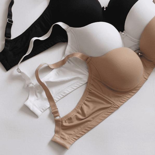 Kit Basic preto/nude/branco