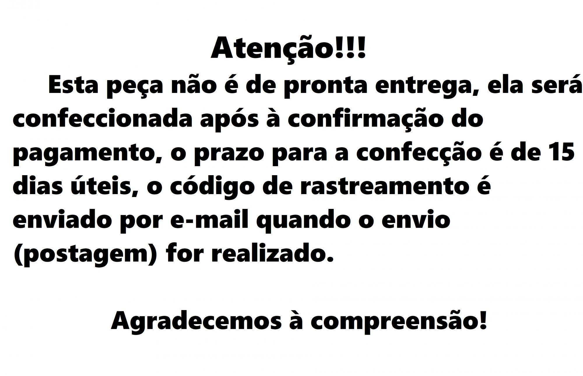 Sutiã Letícia Preto/Branco
