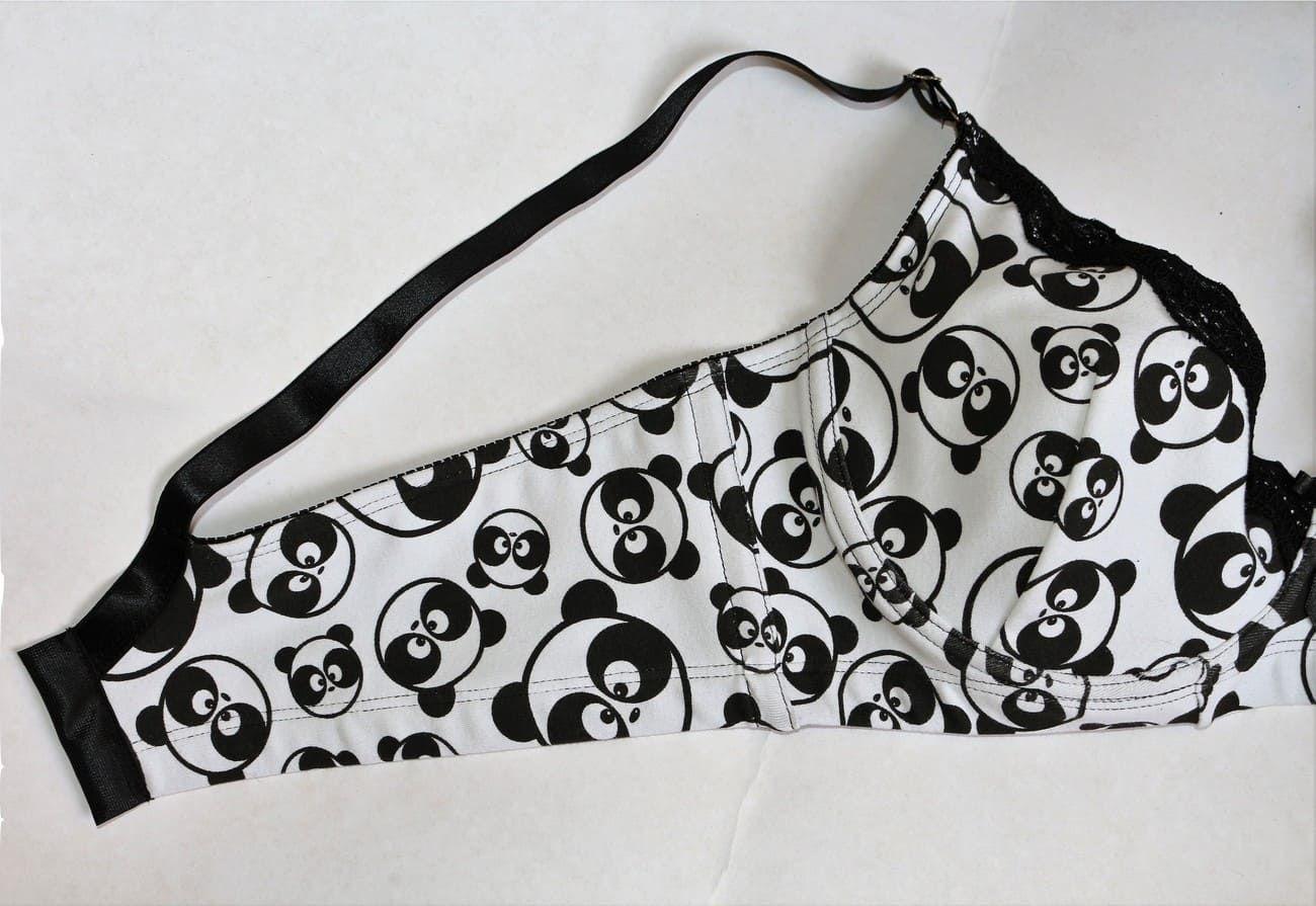 Sutiã panda sem bojo com rendinha
