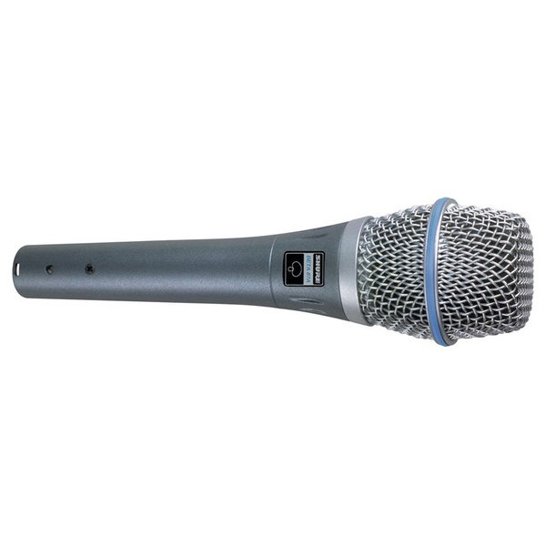 MICROFONE SHURE SUPERCARDIÓIDE PARA VOCAL - BETA 87A
