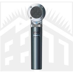 NOVO MICROFONE SHURE PARA INSTRUMENTOS E PARA BATERIA - BETA 181/C