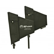 Antena Rf Venue Dupla Direcional Ominidirenal - Diversity Fin