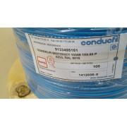 Cabo Coaxial/R HDTV Conducfil 1x0.60 - Preto-  Blue Cable 13349p