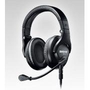 Fone/microfone P/ Broadcast Shure Duplo Tipo- Concha Brh440m