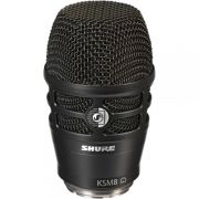 Cápsulas Para Microfone Shure Sem Fio  Ksm8 Dualdyne Preto - RPW174