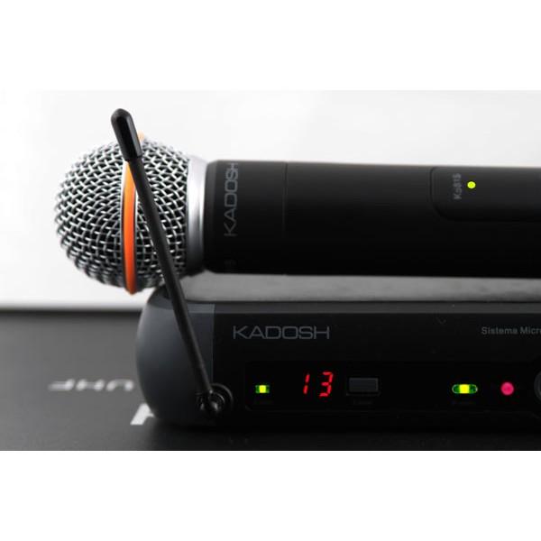MICROFONE SEM FIO DE MÃO UHF KADOSH K-581S