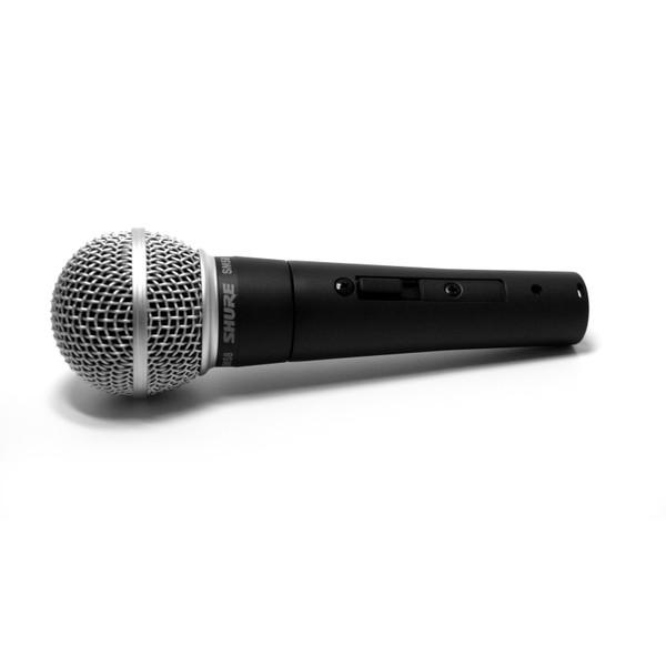 Microfone Dinâmico Shure Cardióide Para Vocal Chave Liga e Desliga - SM58-S