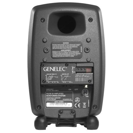 Monitor Ativo Genelec para estudio 2 vias bi-amp 4´ - 8020B